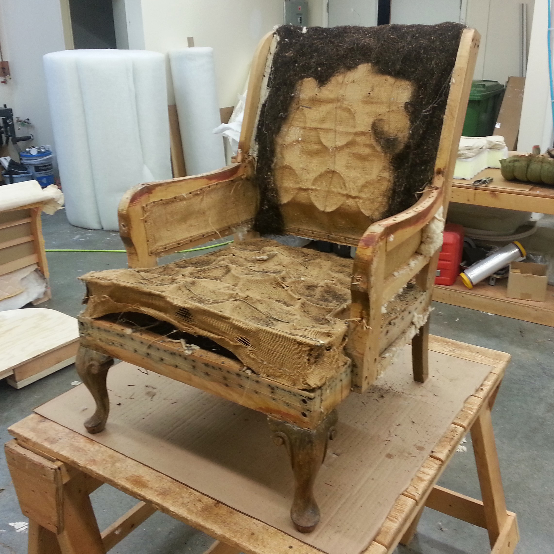 coombs chair restoration