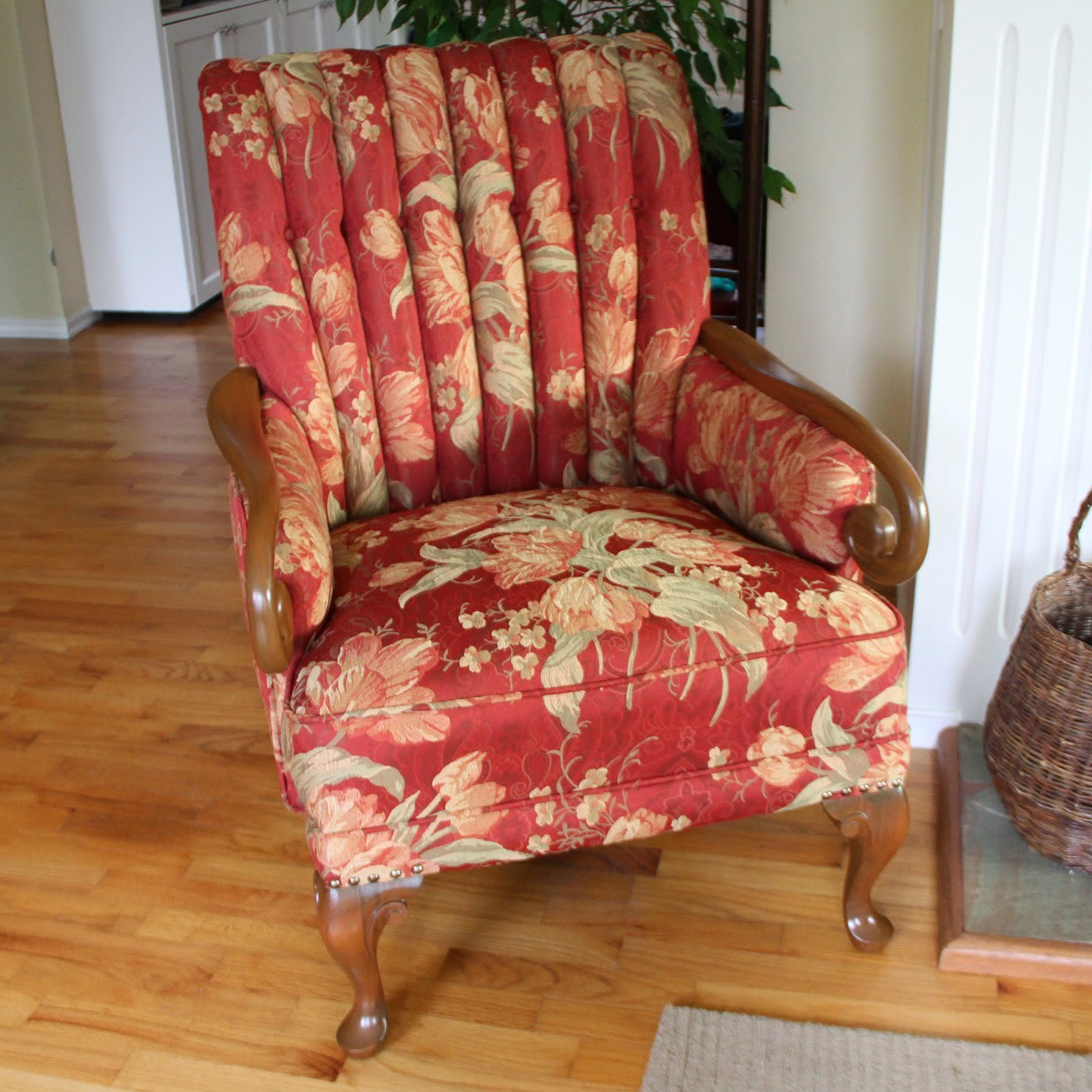 coombs chair finished