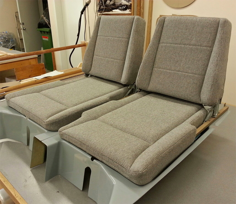 glastar aircraft seats